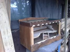 Foto 4 Hamsterkäfig/Mäusekäfig aus Holz! Neu!