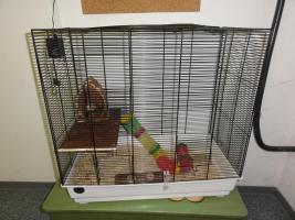 Hamsterkäfig ca 55x80x30 (BxHxT) zu verschenken