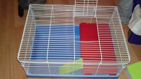 Hamsterkäfig + Zubehör