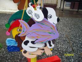 Foto 3 Handbemalte  Holzfiguren