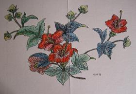 Handgearbeitete Grusskarten mit oder ohne Gedicht