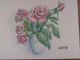 Foto 5 Handgearbeitete Grusskarten mit oder ohne Gedicht