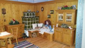 Foto 4 Handgefertigte Miniatur Bauernstube aus Holz