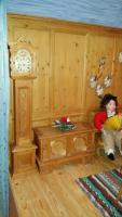 Foto 5 Handgefertigte Miniatur Bauernstube aus Holz