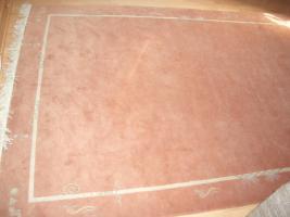 Handgeknüpfter Teppich 200x300 cm terra
