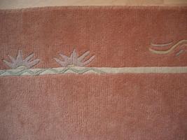 Foto 3 Handgeknüpfter Teppich 200x300 cm terra