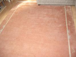 Foto 6 Handgeknüpfter Teppich 200x300 cm terra