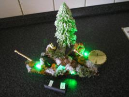 Foto 2 Handgemachte Weihnachtswurzel mit Beleuchtung!!!!!!!!!!!!!!