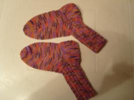 Handgestrickte Socken Gr. 39-41