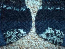 Foto 3 Handgestrickte Wollsocken für den Herrn Gr. 45 NEU
