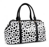 Handtasche von David Jones Sommertasche mit Punkten Bag Designer
