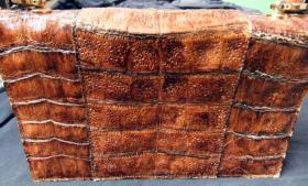 Foto 2 Handtasche aus braunem Leder, Henkeltasche