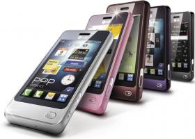 Handy LG mit Vertrag: 0, - Euro Handy Vertrag LG GD510 POP: 3MP, Touchscreen, Social Networking etc.