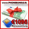Handy-SIM-Bundle mit Barauszahlung bis € 1095