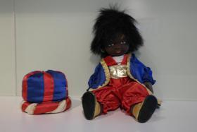 Hangearbeitete Puppe Sarotti Mohr