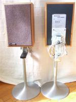 Hansa-Studio-Lautsprecher KB35 mit Edelstahlfuß, gebürstet