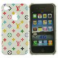 Hardcase LV Design Iphone 4 Monogram Luxus