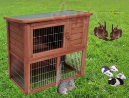 Hasenstall Kaninchenstall mit Auslauf