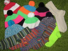 Hauben und Socken
