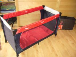 hauck reisebett mit passender matratze esprit sleeper in bechtolsheim von privat. Black Bedroom Furniture Sets. Home Design Ideas