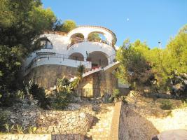 Haus mit Meerblick und Einliegerwohnung in Spanien/Benissa zu verkaufen