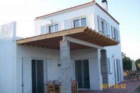 Haus mit Meerblick auf Evia (Gialtra)