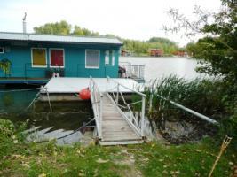 Foto 2 Hausboot – schwimmendes Haus 14x 5 Meter samt Wasserlände in der Slowakei