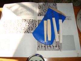Foto 10 Haushaltsstrickmaschine, Simac DX-4000