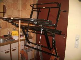 Heck Fahrradträger  '' Paulchen'' für 4 Fahrräder