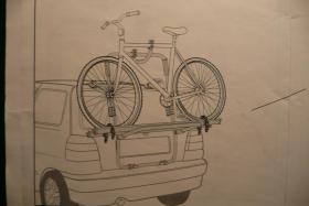 Foto 2 Heckträger für 2 Fahrräder