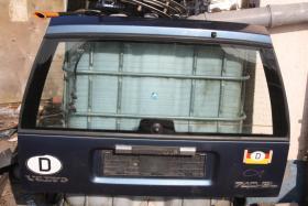 Foto 2 Hecktür mit Glasscheibe und Entfroster Volvo 765 Blau