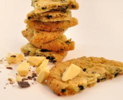 Heidelbeer - Schokolade Cookies