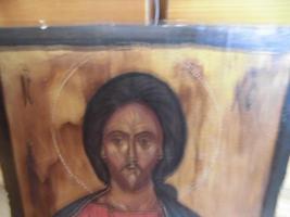 Foto 2 Heiliger Jesus, Bild auf Holz; IC , XC