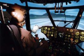 Helikopter im Simulator fliegen
