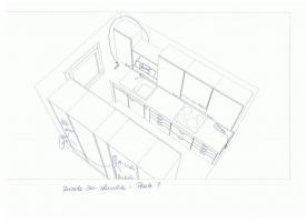 Foto 4 Helle 3 Zi-Wohnung mit Balkon + TOP Einbauküche Kaltmiete: 448 EUR