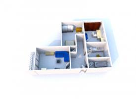 Foto 2 Helle 3 Zimmer Eigentumswohnung, zum Hammer Preis!!!