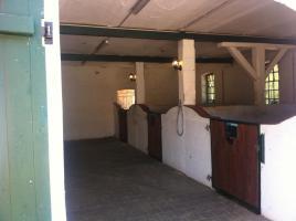 Helle gitterfreie Pferdeboxen in netter Stallgemeinschaft