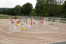 Foto 5 Helle gitterfreie Pferdeboxen in netter Stallgemeinschaft