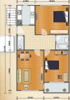 Helle und ruhige 3-Zimmer Wohnung