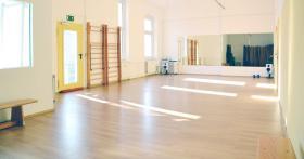 Helle und saubere �bungs- und Trainingsr�ume