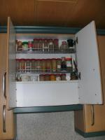 Foto 5 Helle, gepflegte Küche L-Form Eichennachbildung