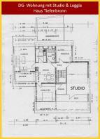 Foto 2 Helle, große Studio-DG-Wohnung in 75233 Tiefenbronn sucht ruhige niveauvolle Mieter