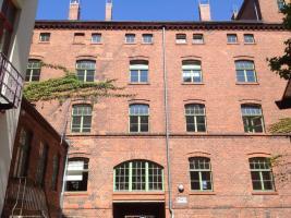 Heller und ruhiger Büroraum in Berlin Kreuzberg