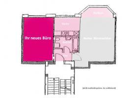 Foto 4 Helles Büro/Arbeitsplätze in Bürogemeinschaft + im Regierungsviertel + komplett ausgestattet