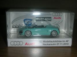 Herpa Audi R8 Spyder mintgrün limitierte Auflage nur 444 Stück 1:87 sehr selten letzte Chance