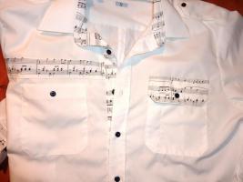Foto 2 Herren Hemd mit Noten