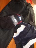 Foto 4 Herren Schuhe(45) Boxershort XL(gewasch. nicht getragen)Wrengler Jeans(schw)