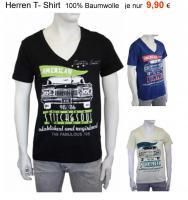 Herren T-Shirt NEU Motiv: Oldtimer 100% Baumwolle nur 9,90€