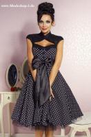 Herrliches Rockabilly Kleid mit Schleife