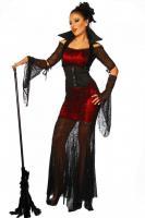 Foto 4 Hexen-Kostüm, einzigartig auffällig, Spinnennetz-Stoff